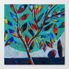 A Magic Tree Canvas Print