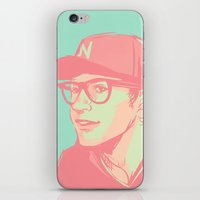 bubblegum iPhone & iPod Skins featuring Bubblegum by Rosketch