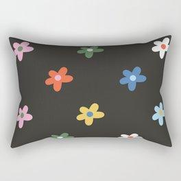 Flower Power -  Rainbow Rectangular Pillow