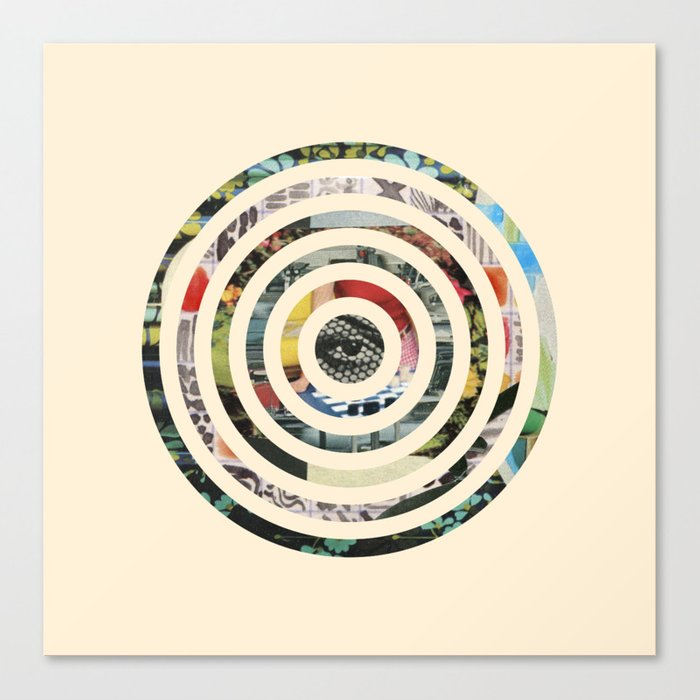 Circles. Canvas Print