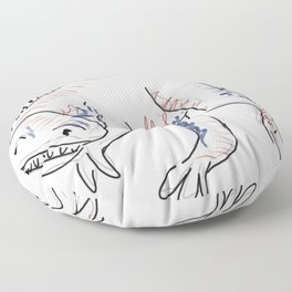 Dinosaurs 1 - Angaturama Floor Pillow
