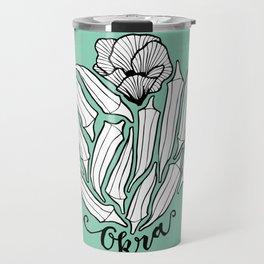 The Bloom of Okra Travel Mug