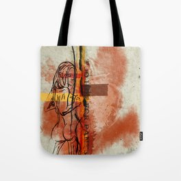 Too Hot for Pants Tote Bag