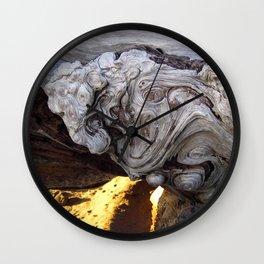 Driftwood Abstract Wall Clock