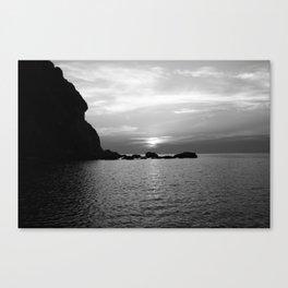 Dusk in Elba Canvas Print