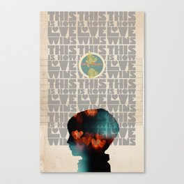 Art That Helps Collaboration Print Canvas Print