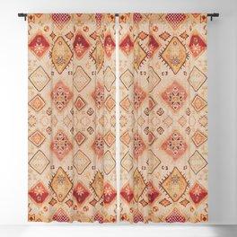 N182 - Sahara Desert Bohemian Moroccan Eclectic Style Blackout Curtain