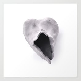 Unloved 3 Art Print