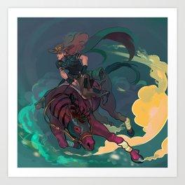 Jojo's Bizarre Adventure Steel Ball Run - Gyro Zeppeli Art Print