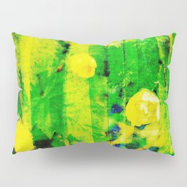 Abstract No. 1: It All Started With Spring Flowers - Inception Pillow Sham