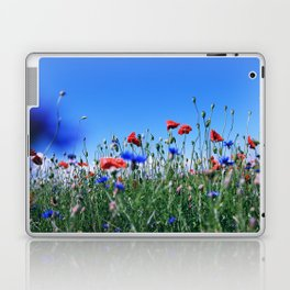 poppy flower no11 Laptop & iPad Skin