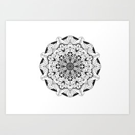 Mandala animals! Art Print