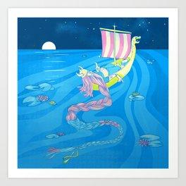 Viking Dreams Art Print