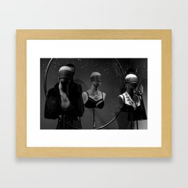 Lost in the Shadows Framed Art Print