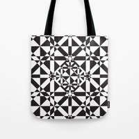 compass Tote Bags featuring Compass by Vadeco