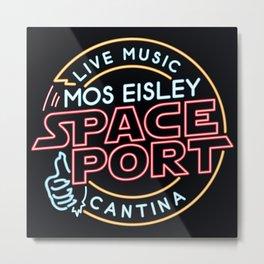 MOS EISLEY SPACE PORT Metal Print
