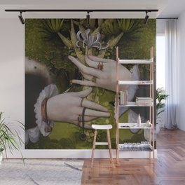 """The hands of Bosch and the Spring"" Wall Mural"