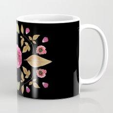 FLOWER COLLAGE N2 BLACK BACKGROUND Mug