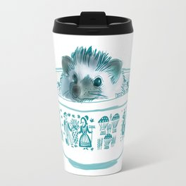 Hedgehog Hot Tub #2 Travel Mug
