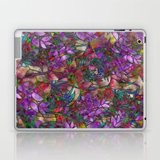 Floral Abstract Stained Glass G175 Laptop & iPad Skin