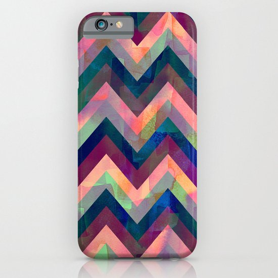 Painted Chevron iPhone & iPod Case