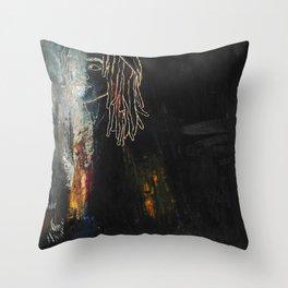Dreaded Throw Pillow