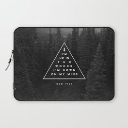 Woods -- Bon Iver Laptop Sleeve