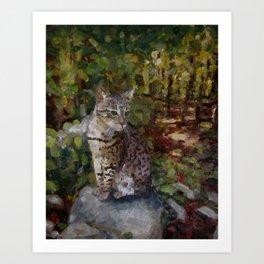 Among the Still Leaves Art Print
