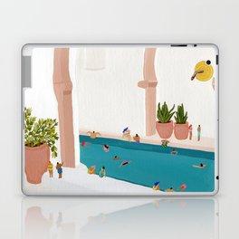 Alcove pool Laptop & iPad Skin