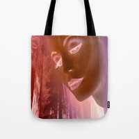 grace Tote Bags featuring Grace by Tami Cudahy