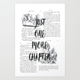 One More Chapter Art Print
