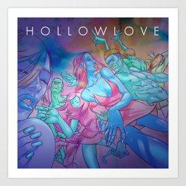 Hollowlove Dance Art Print