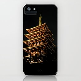 Buddhist Temple iPhone Case