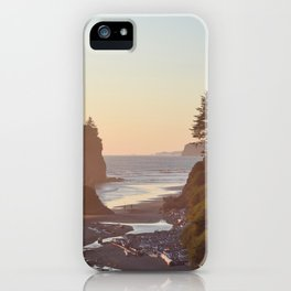 Ruby Beach Washington Sunset Pacific Ocean Coastal Landscape Northwest Explore Adventure Travel Outdoors iPhone Case