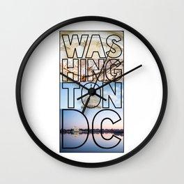 Washington, DC Wall Clock