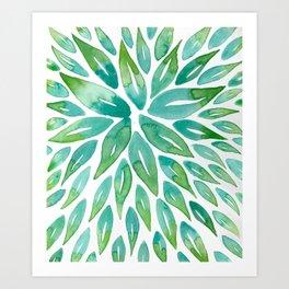 Leaves of Green Art Print