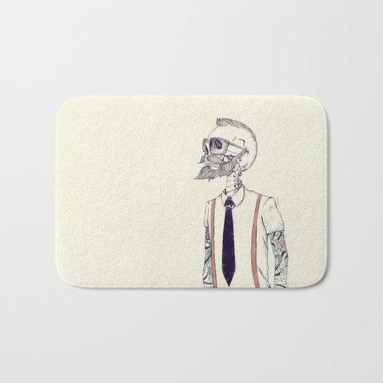 The Gentleman becomes a Hipster  Bath Mat