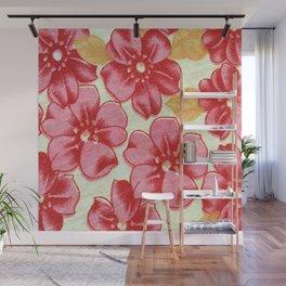 Flower Power. Florals. Flower Pattern Wall Mural