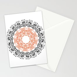 arabic calligraphy letters Stationery Cards