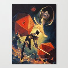 The Dungeon Master Canvas Print