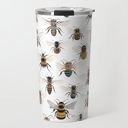 A Collection of Native Bees Travel Mug