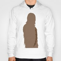 chewbacca Hoodies featuring Chewbacca by olive hue designs