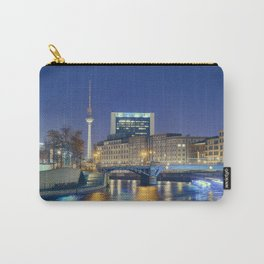 Berlin. Spree at night Carry-All Pouch