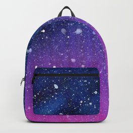 Galaxy Forest Reindeer Backpack