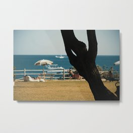 Stop And Breathe Metal Print