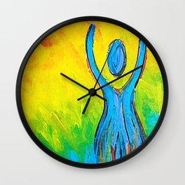 Inspiration Rising Wall Clock
