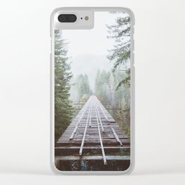 Vance Creek Bridge | Pt. 2 Clear iPhone Case
