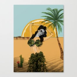 It's Desert Time Canvas Print