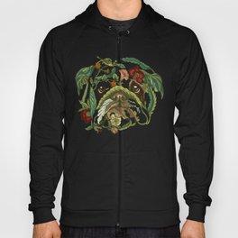 Botanical English Bulldog Hoody