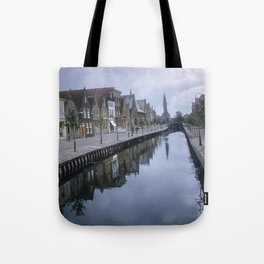 Vintage Color Photo * 1940's * Holland * Village * Kodachrome* 1950's Tote Bag